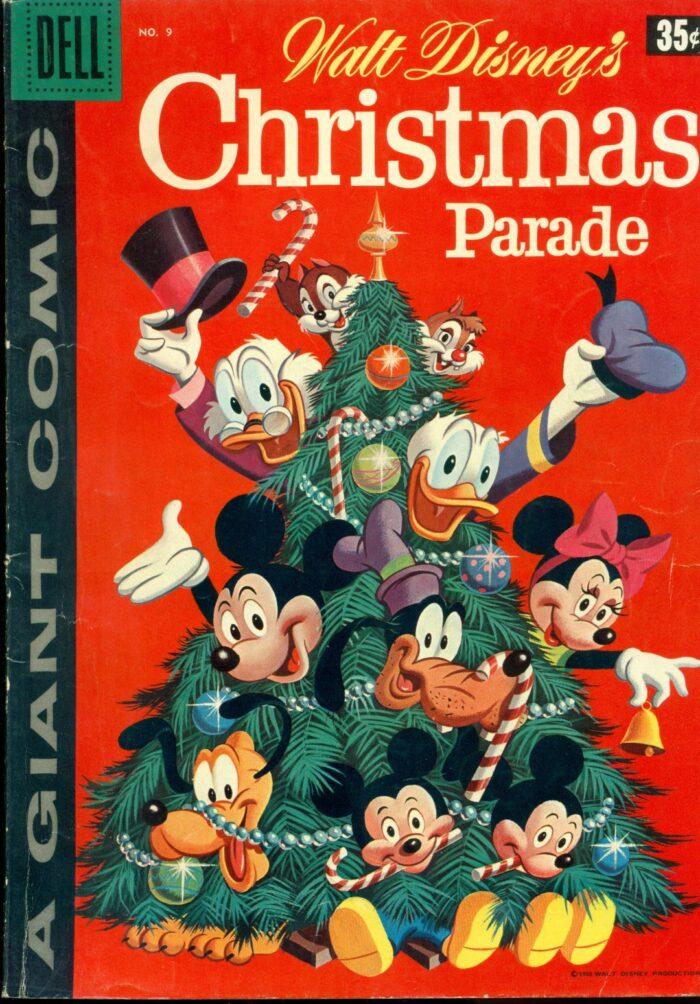 Disney Christmas Parade.Walt Disney Christmas Parade 9 Vg