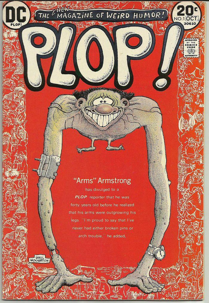 Plop #1 1973 Basil Wolverton